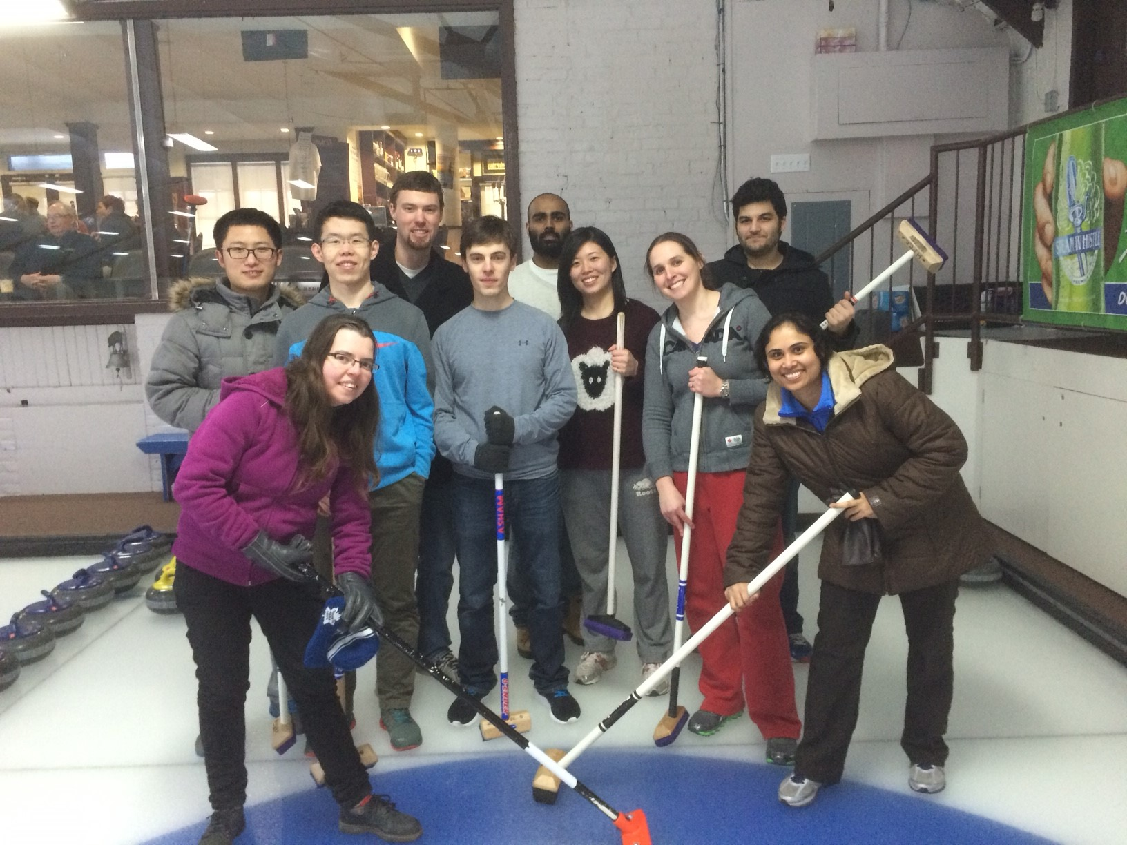 Curling Game - Mar 13
